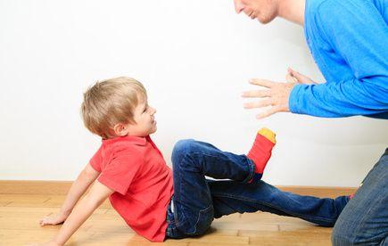 Wenn Kinder ihre Eltern blasen - über den Umgang mit Aggressivität