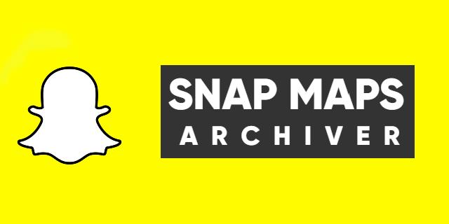 snapmap-archiver splash