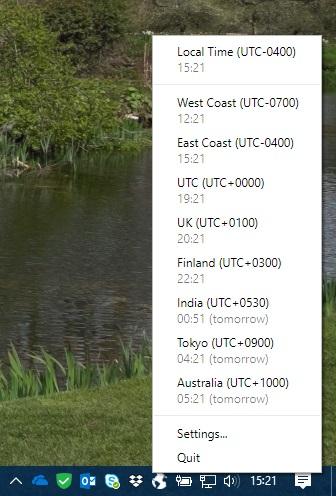 example screencap