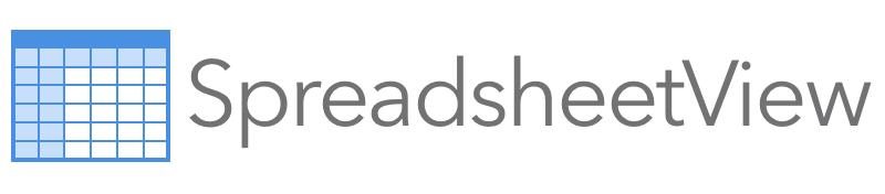 SpreadsheetView