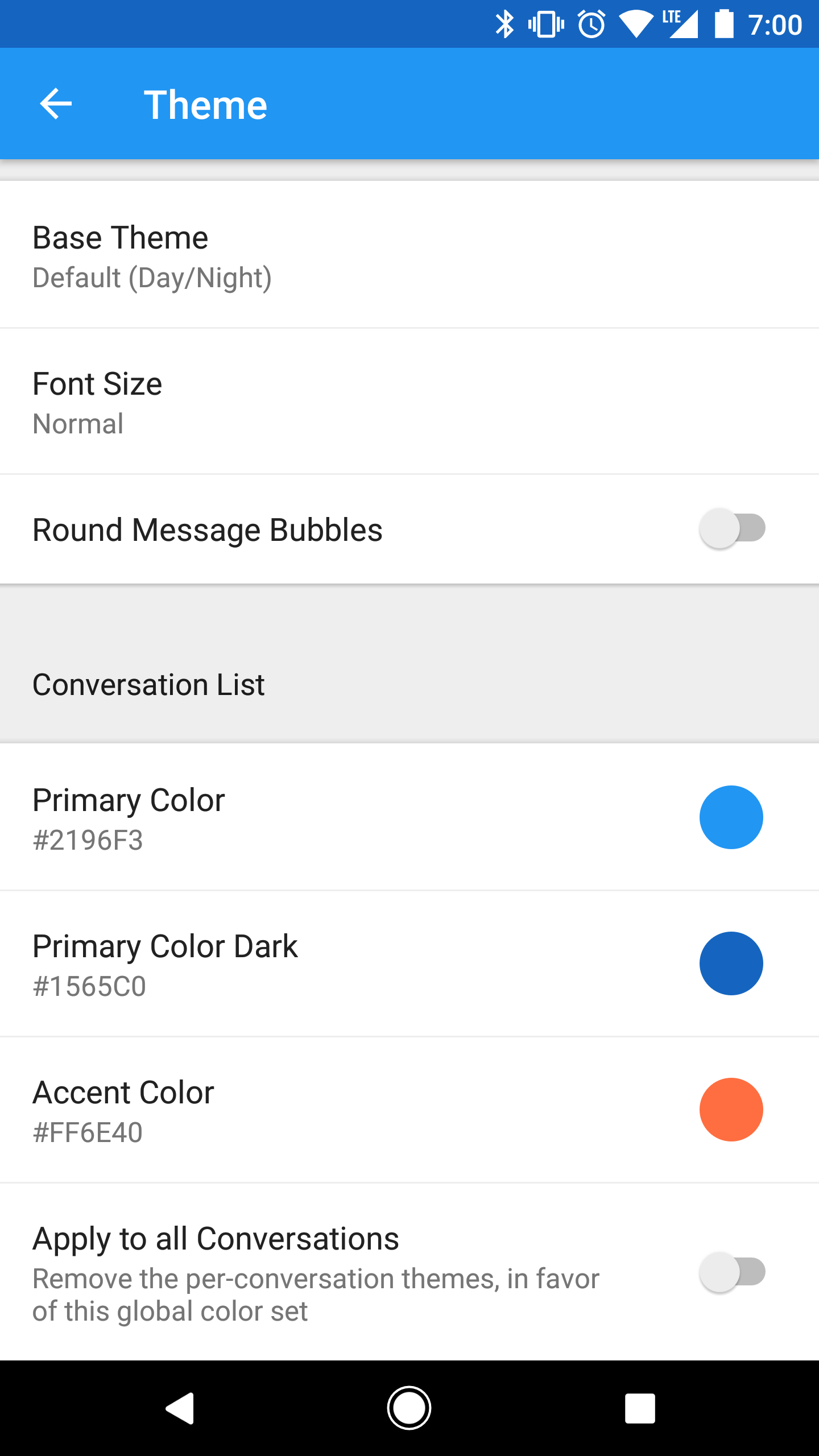 Pulse SMS v2 5 0 - Theming, Emojis, and More