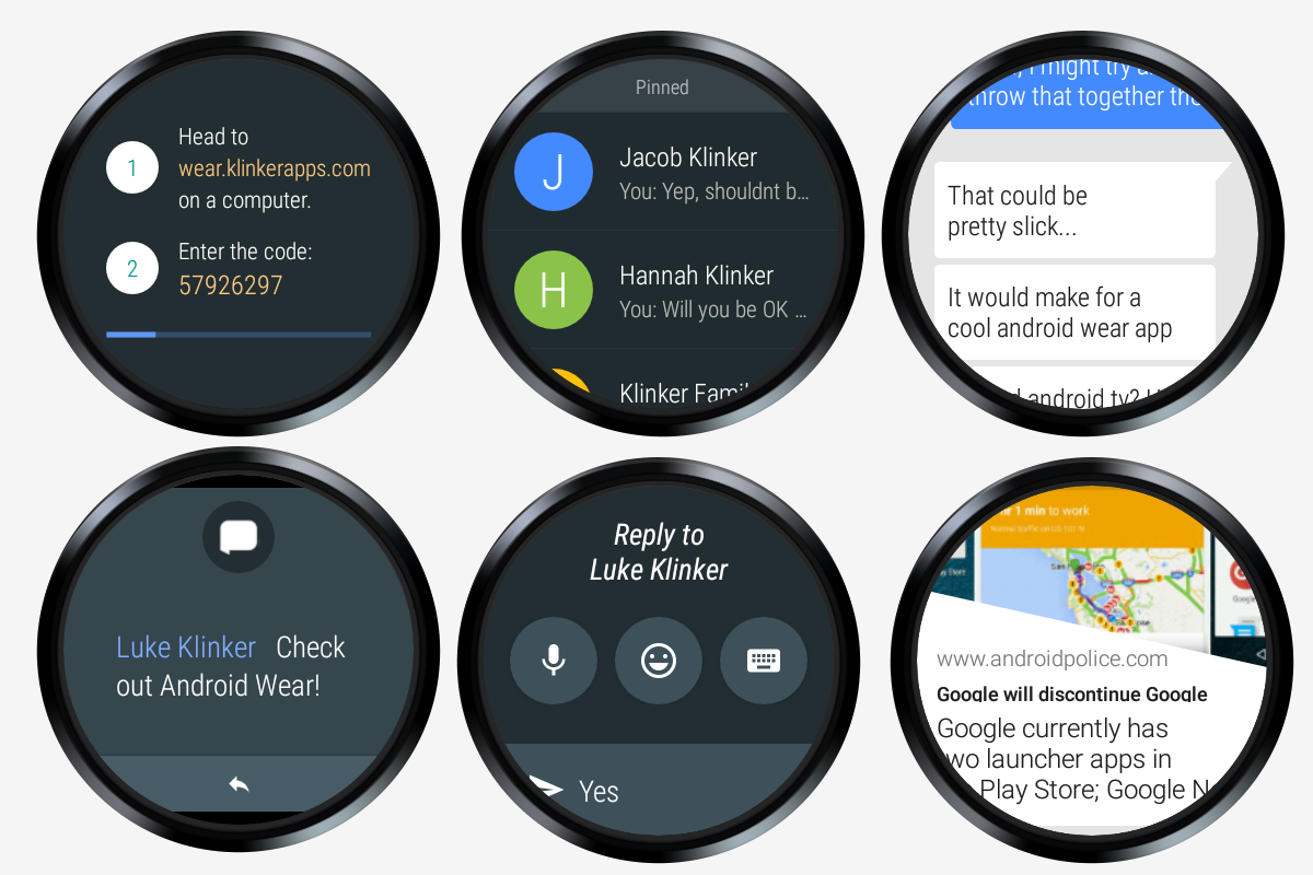 Pulse SMS 2 0 for Android Wear 2 0