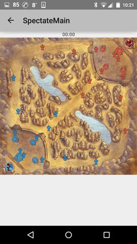 map view start