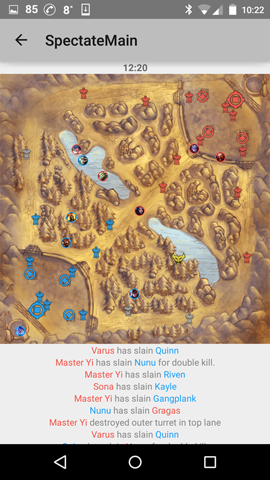 map view 12 minutes
