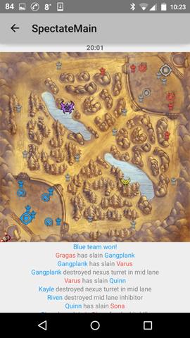 map view won!