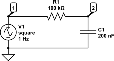 RC Circuit Diagram