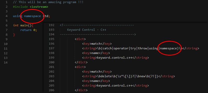 C++ Starting Kit Add Keyword