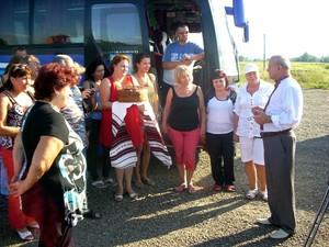 До Коломийського району прибула делегація Аксайського району Ростовської області