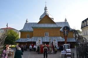 Храмовий празник в Надвірній