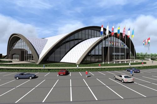 """Сучасний палац спорту у Франківську будуватимуть в районі """"БАМу"""""""