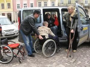 Таксі для інвалідів