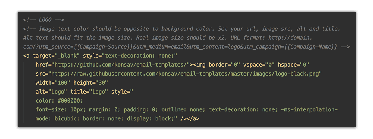 GitHub Konsavemailtemplates Responsive HTML Email Templates - Basic html email template code