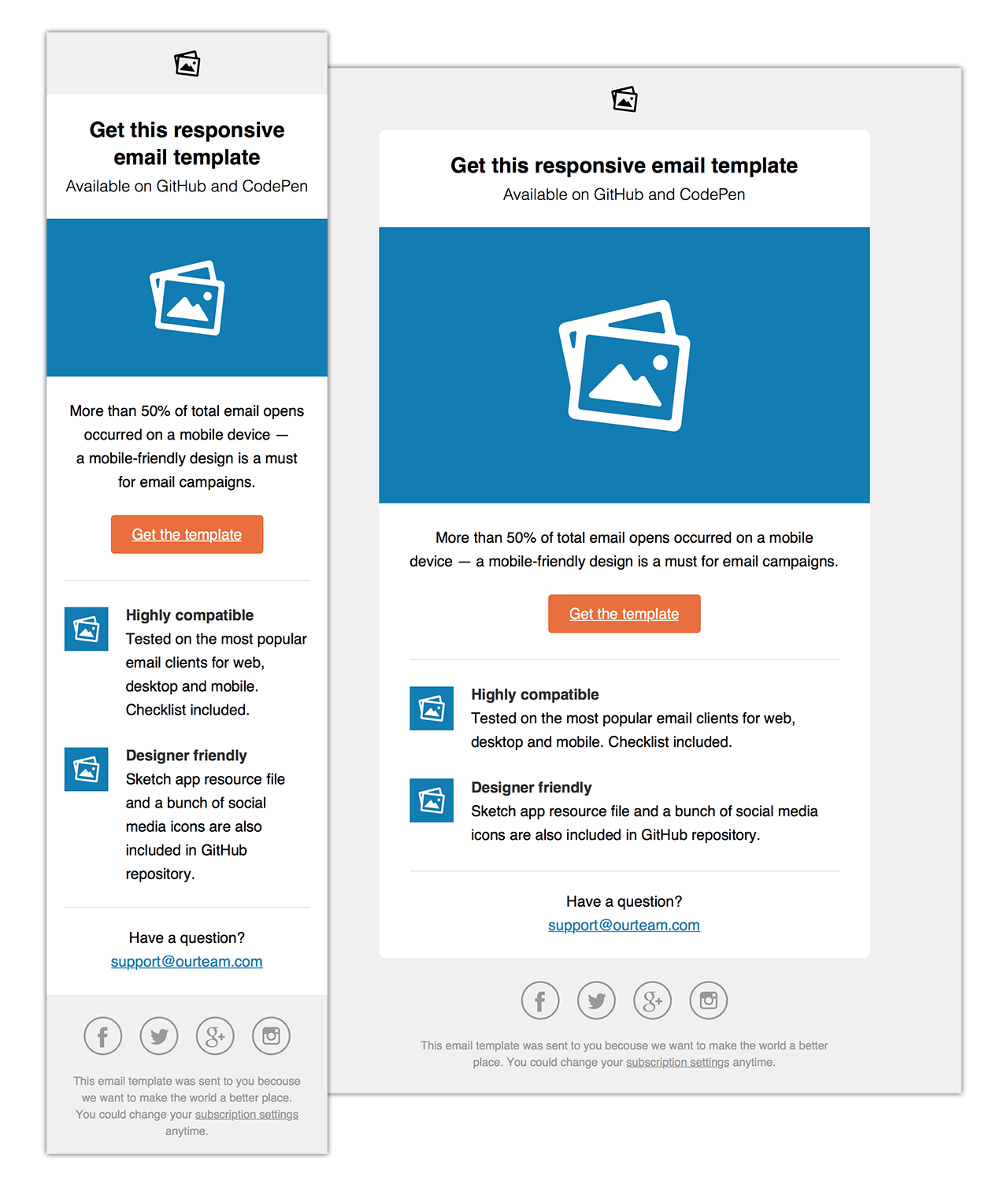Email Template Html Geccetackletartsco - Newsletter html template