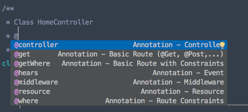 Route Annotations Screenshot