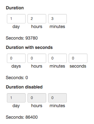 Bootstrap-Duration-Picker