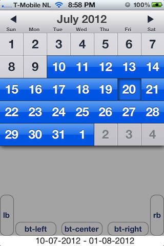 Apple calendar theme 1
