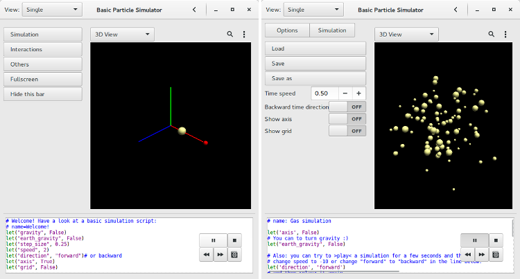 GitHub - krassowski/basic-particle-simulator: Shows why