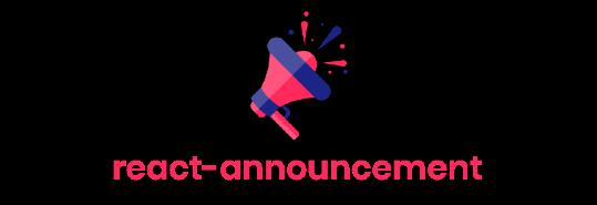 react-announcement