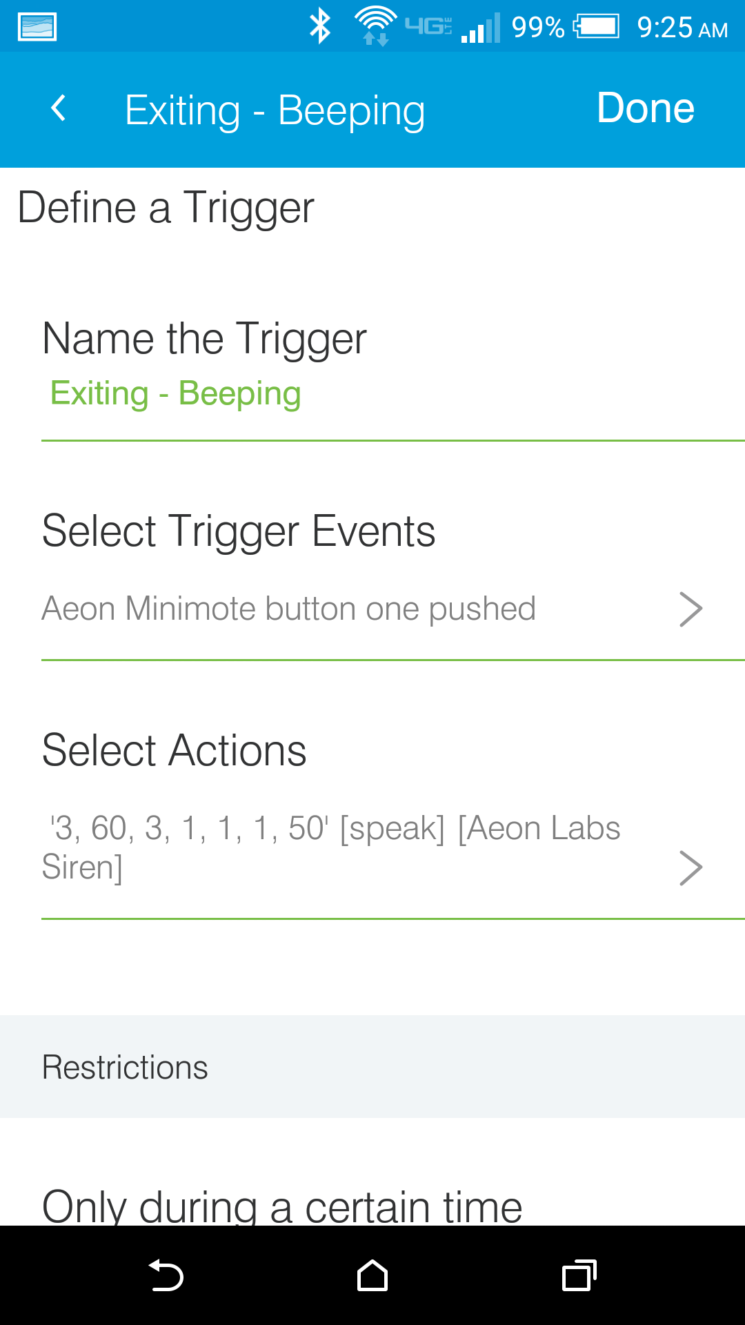 Release Aeon Labs Multifunction Siren Community Created Device Types Smartthings Community