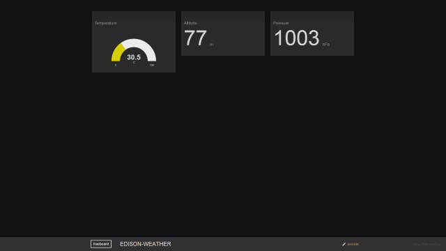 Freeboard Dashboard