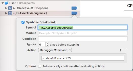 +[KZAsserts debugPass:]    p shouldPass = YES