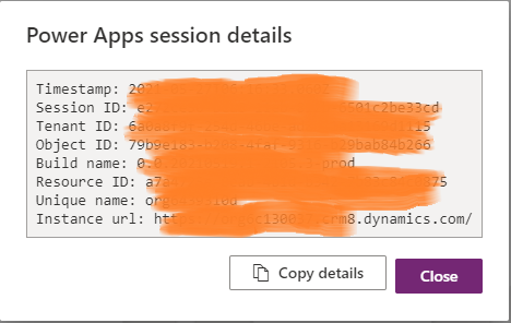PowerApps Org URL for Authentication