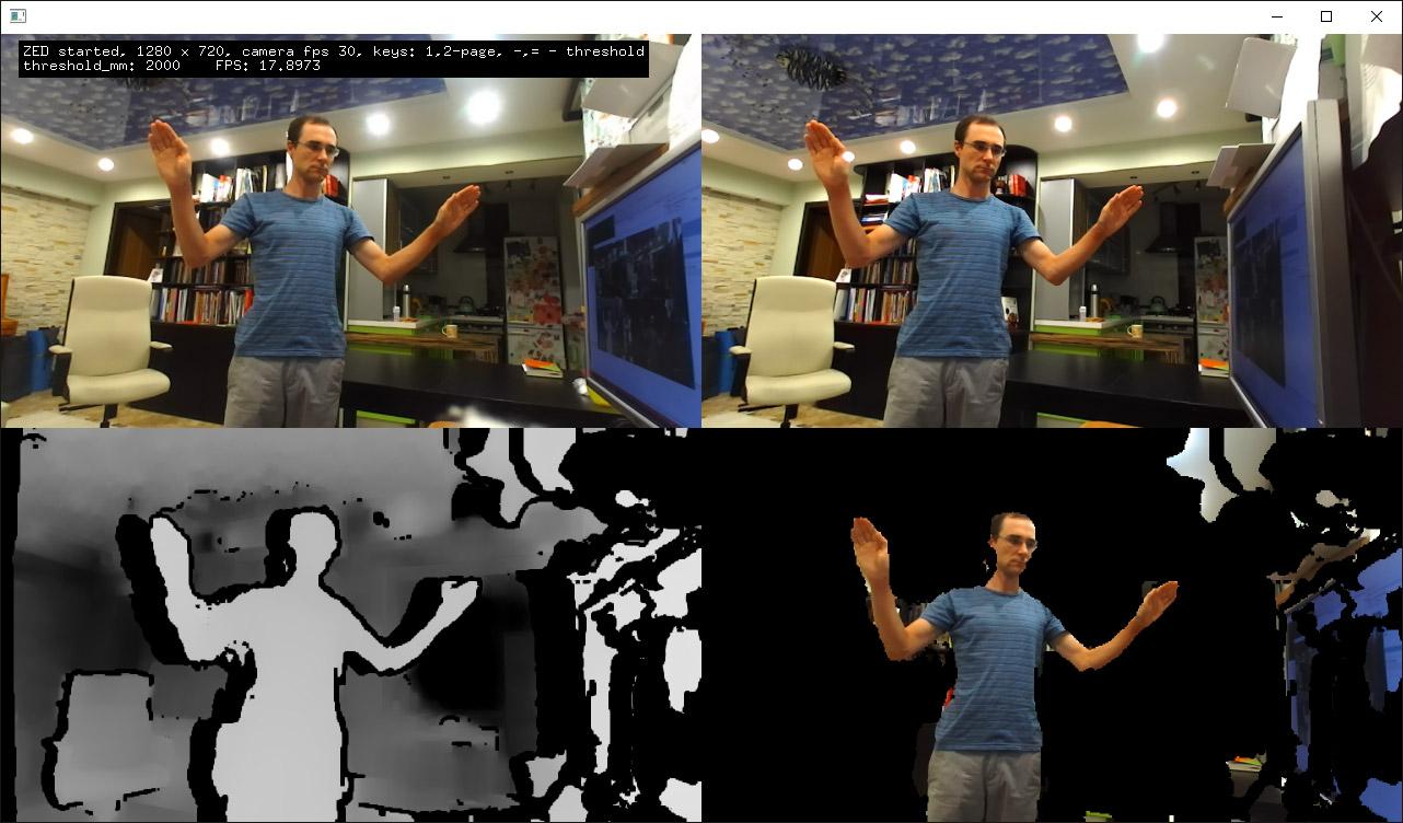 Body tracking (ZED camera) - beginners - openFrameworks