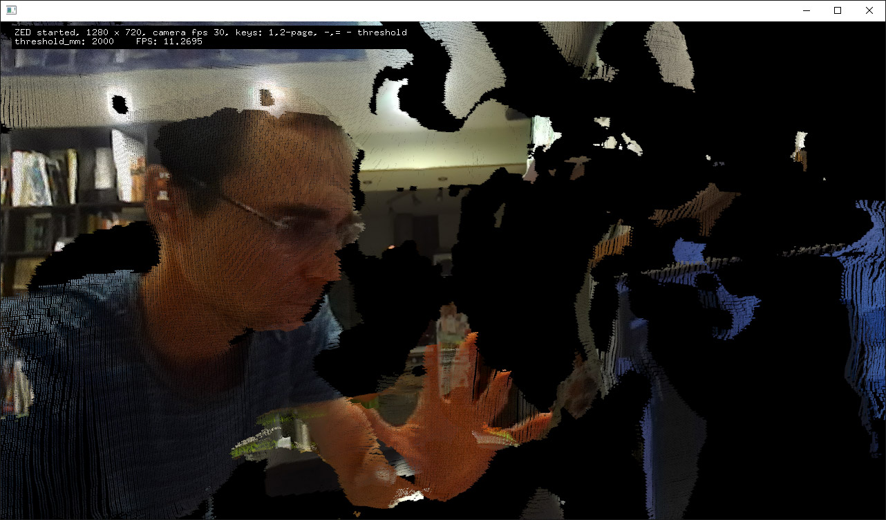 Body tracking (ZED camera) - beginners - openFrameworks
