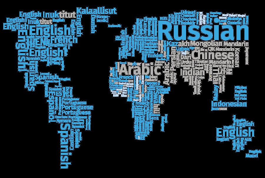 FiraSans map of the World