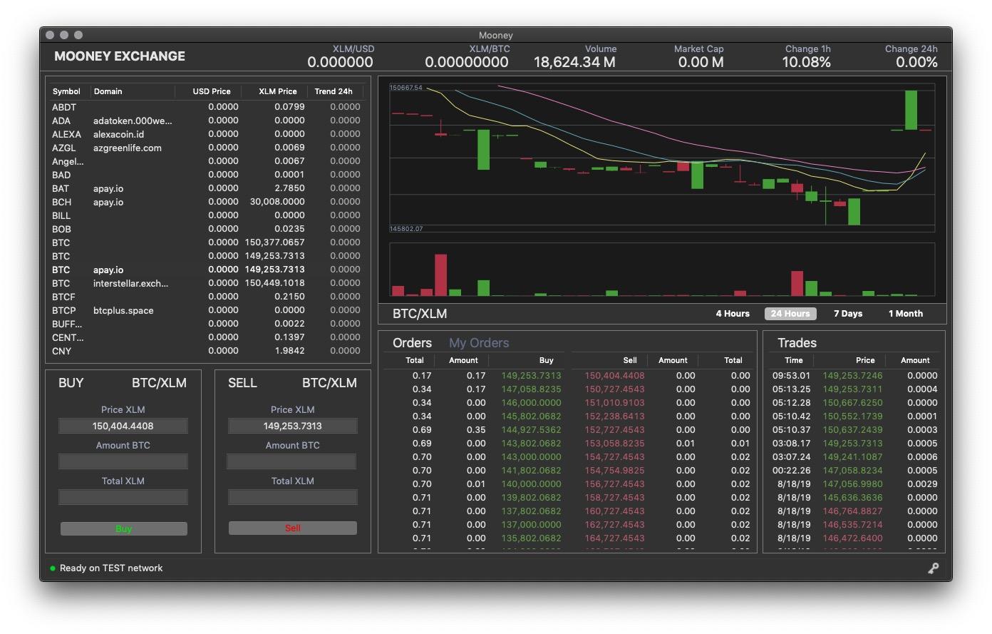 Desktop exchange