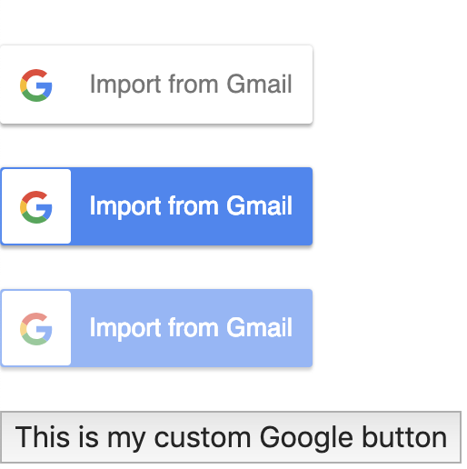 React Google Contacts