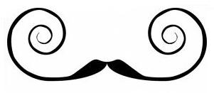villain moustache