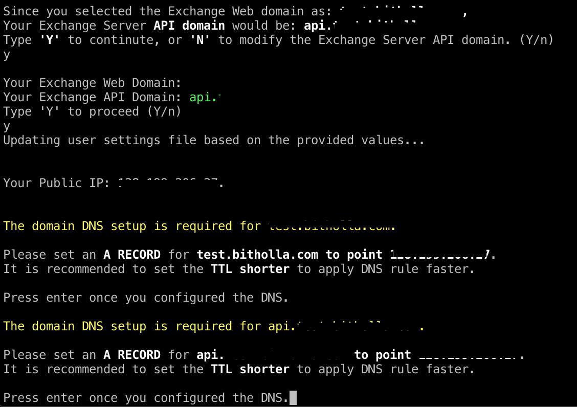 hollaex_prod_dns_configurartion
