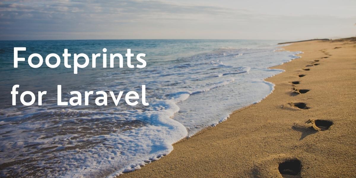 Footprints for Laravel (UTM and Referrer Tracking)