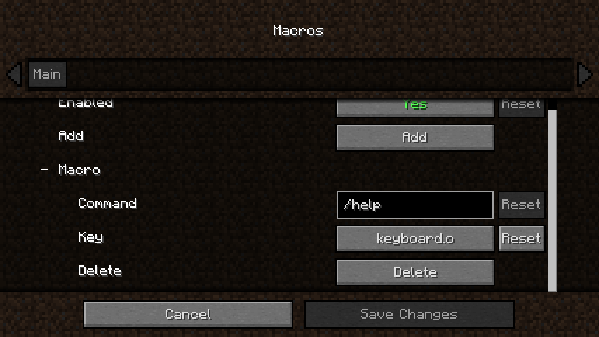 Command Macros - Mods - Minecraft - CurseForge