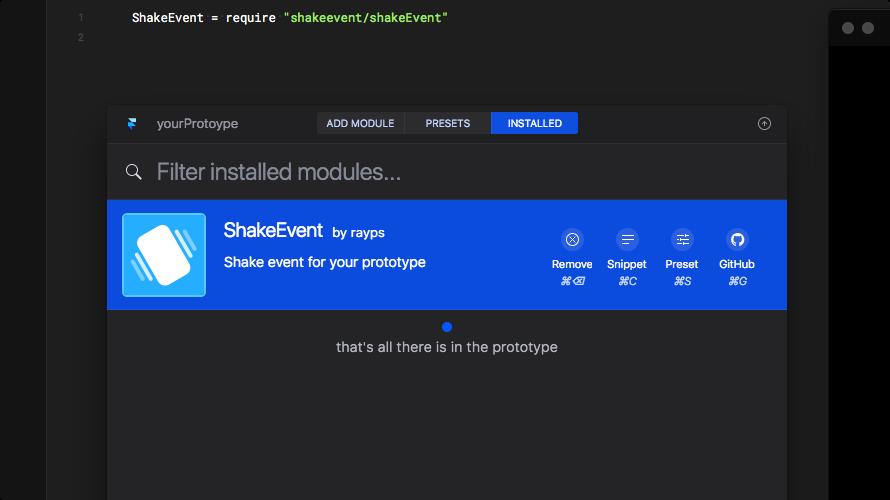 Screenshot of 'Installed' tab