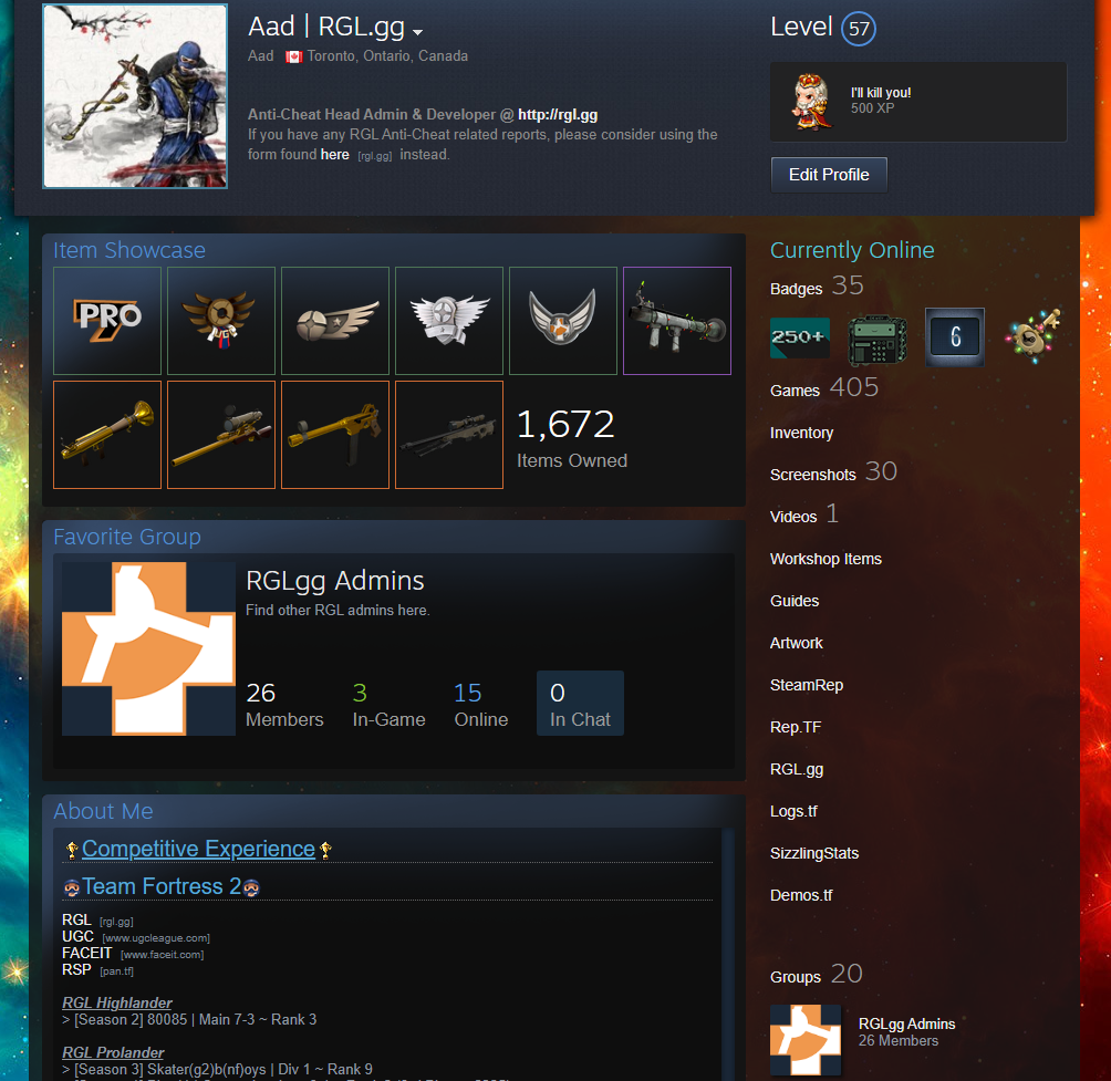 TF2CLS Full Profile