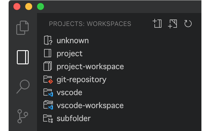 Projects Icons