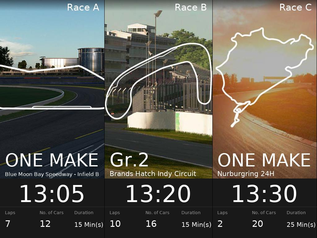 Daily races