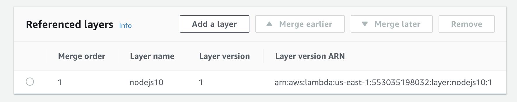 Add a layer