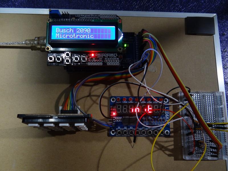 Busch 2090 Microtronic Emulator for Arduino Mega
