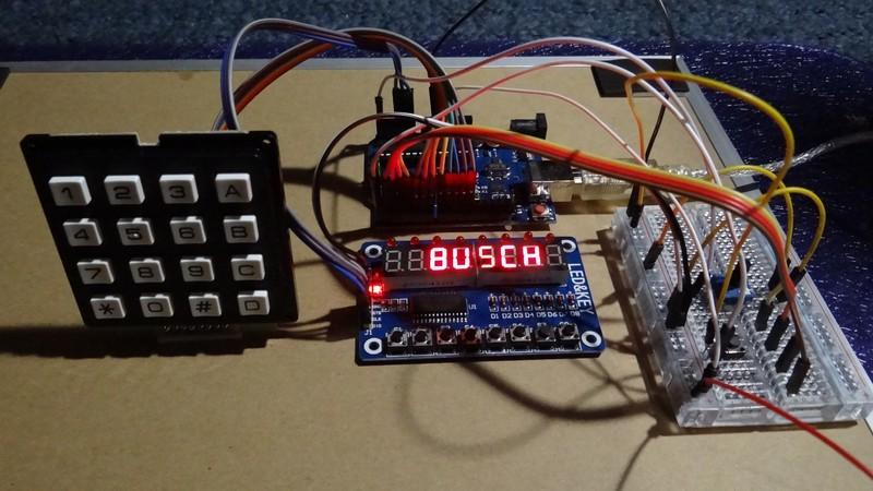 Busch 2090 Microtronic Emulator for Arduino Uno