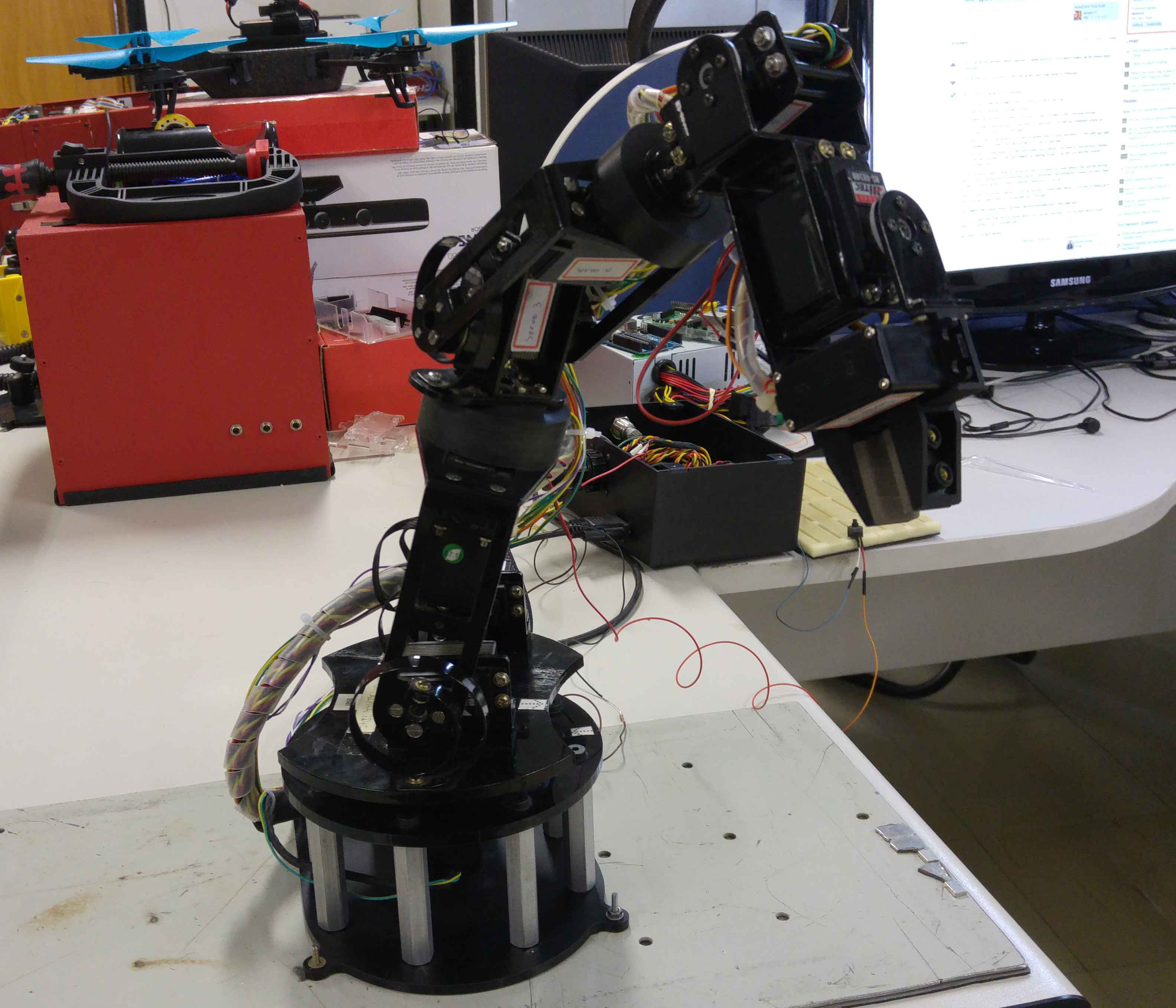 Cyton Modified Robot (LARA version)