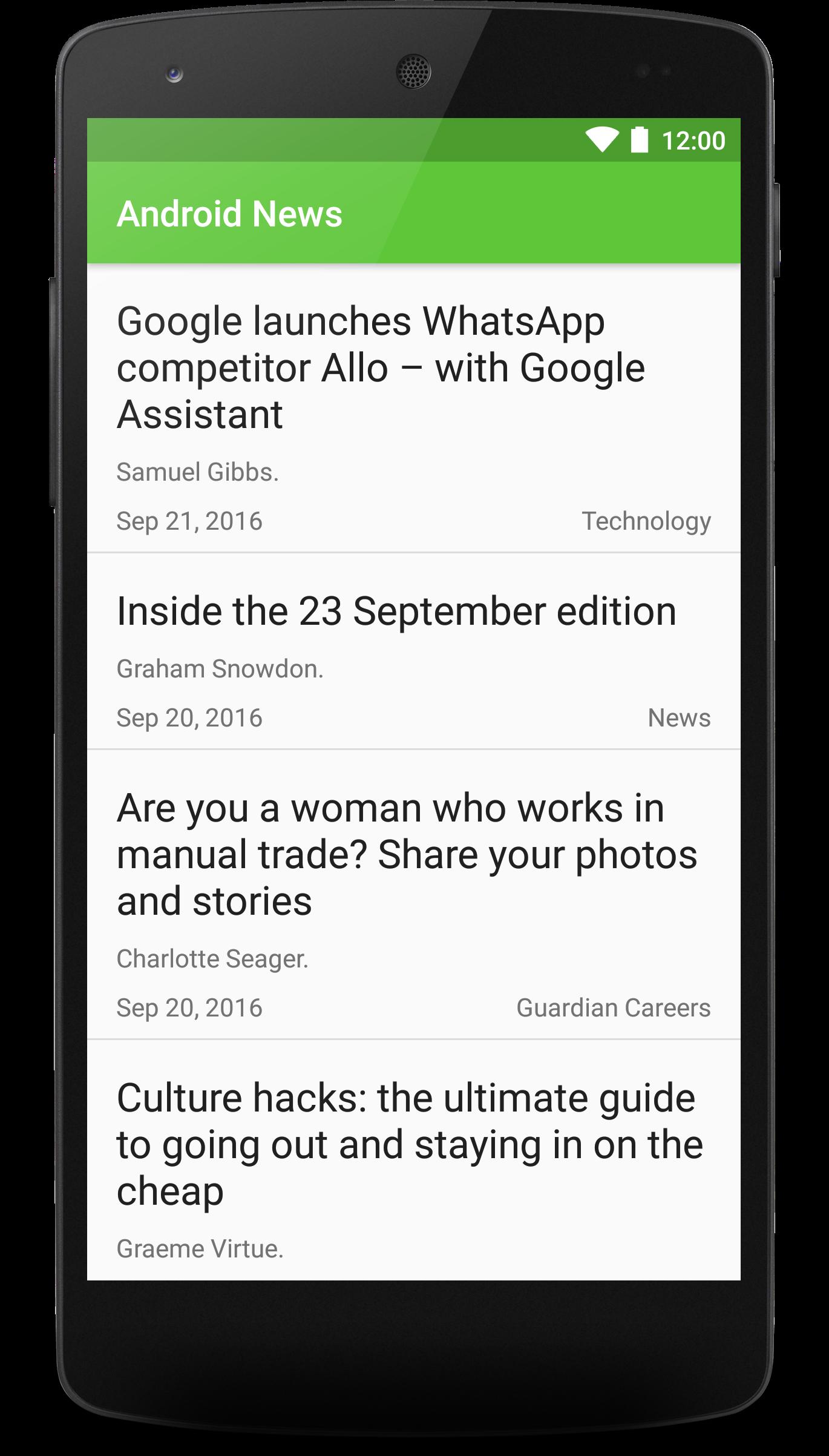 GitHub - laramartin/android_newsfeed: News feed app project