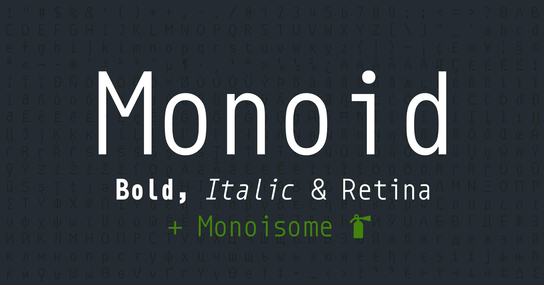 Monoid Banner