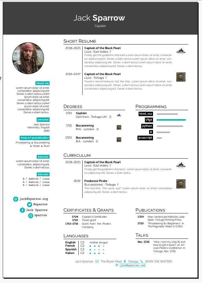 Timeline CV