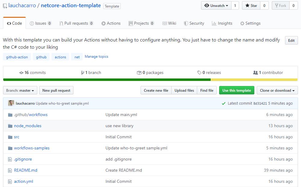 Repositorio en GitHub