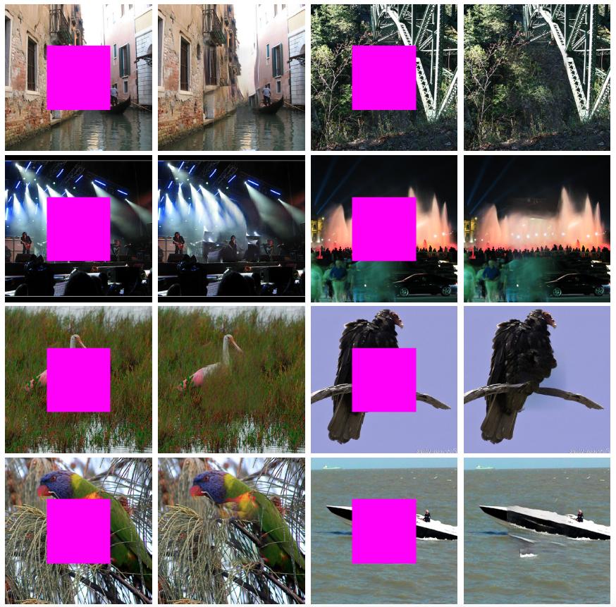 résultat de génération d'image par deep-learning