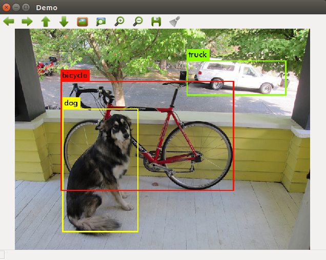 Darknet Ros example: Detection image