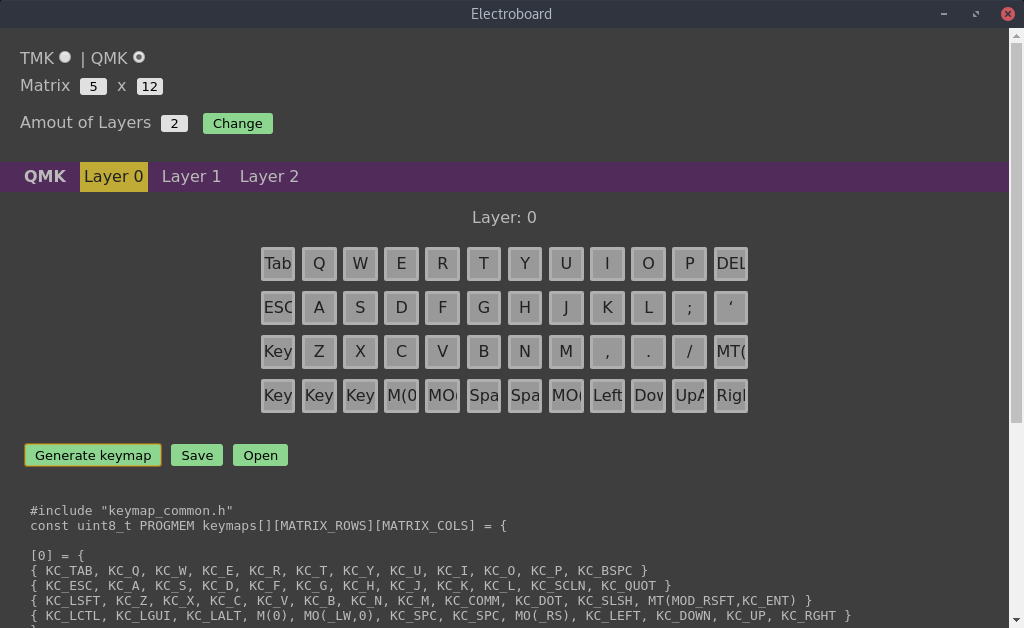 Electroboard (keymapping desktop sw)